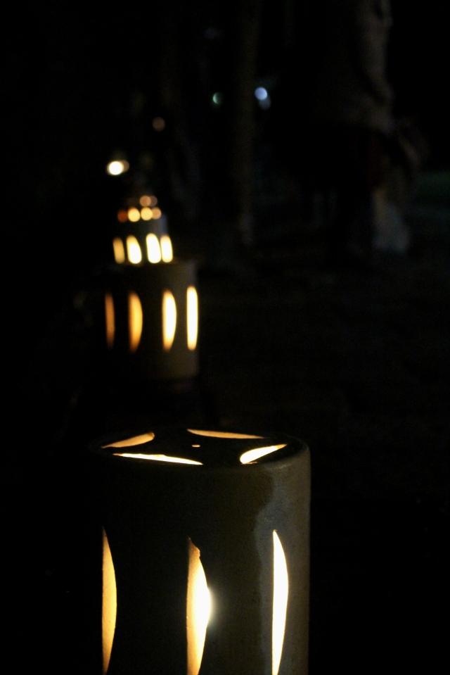 嵐山花灯路 行燈1