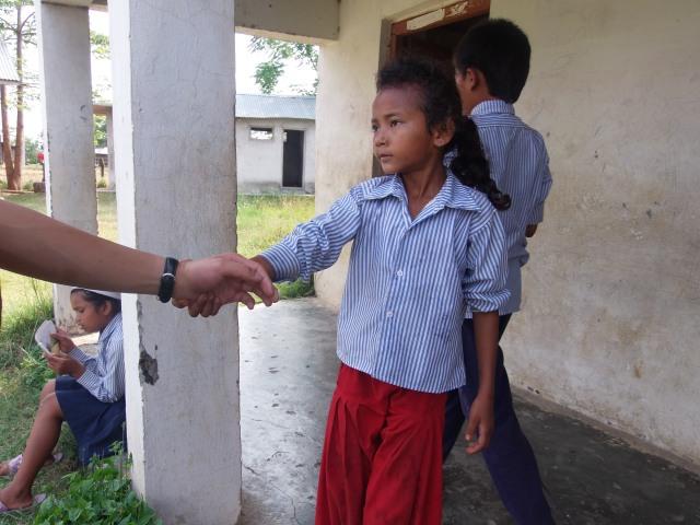 ネパールの子供たち3