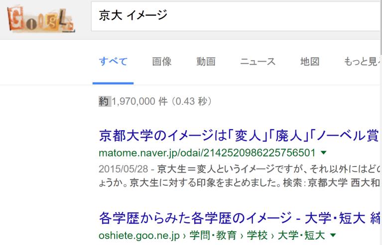 京大 イメージ 検索結果